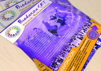 Flyer Biodanza