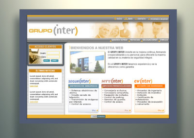 Web Grupo Inter