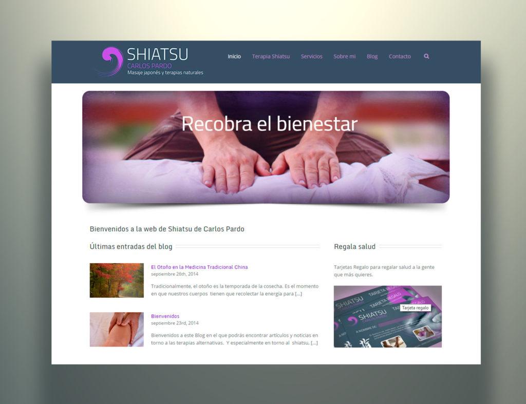 web shiatsuame By Carlos Pardo