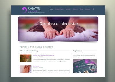 Web Shiatsuame