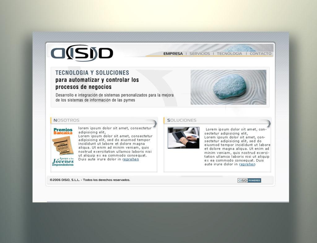 web disid by Carlos Pardo