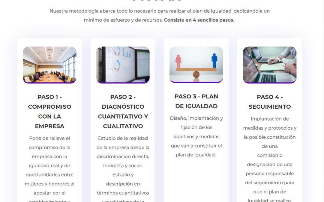 Web Plan de igualdad Tirant
